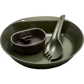 Wildo Pathfinder Kit Set de Cena, olive/dark grey